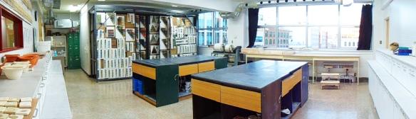 Le laboratoire Mimi Belleau de la Maison des métiers d'art de Québec
