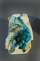 Semi-grès, faïence, brique réfractaire, émaux, fil de cuivre et verre - cuisson cône 6 en oxydation