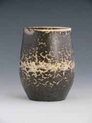 Pièce en argile Raku (Sial)recouverte de terre sigillée