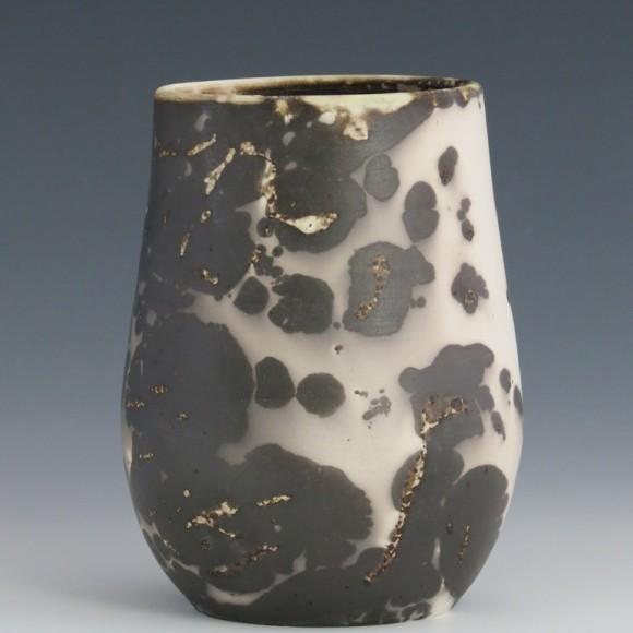 Pièce en argile Raku (Sial) recouverte de terre sigillée