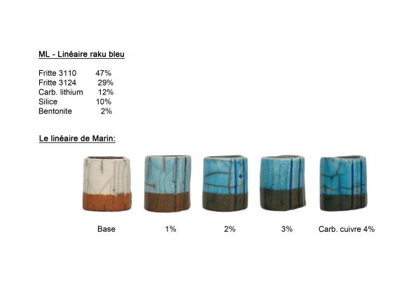 Cône 9 Cuisson gaz en réduction Tessons porcelaine HHP de (Tucker's), extrémité trempée dans grès rouge 440 de (Plainsman)